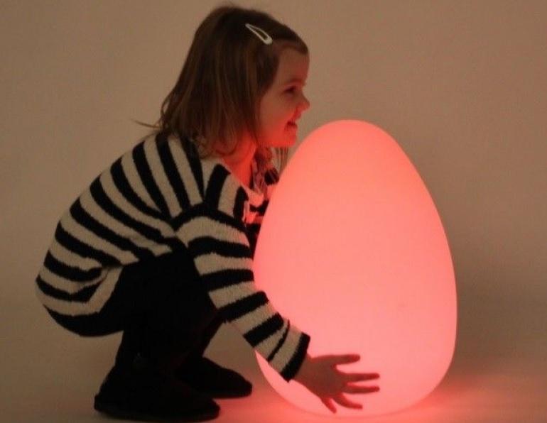 Lys sanse æg