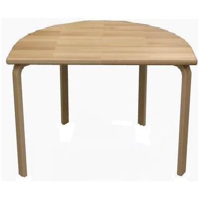 ½ rund bord