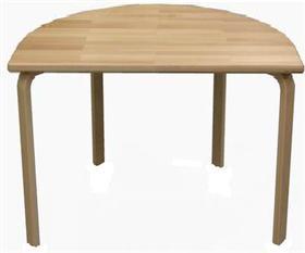 ½ rund bord bøg