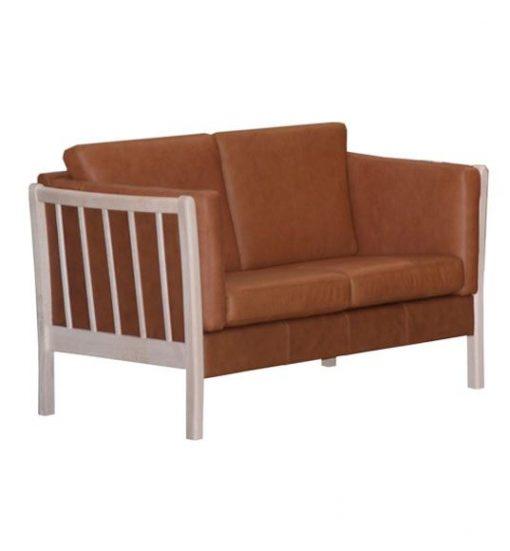 læder sofa