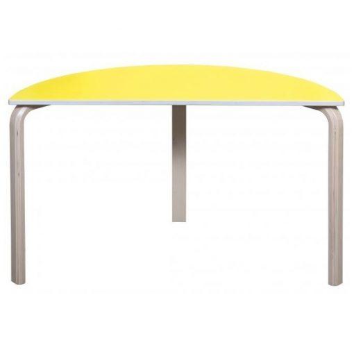 halv rund bord