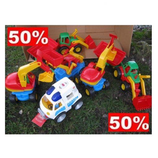 Sampak køretøjer 50%