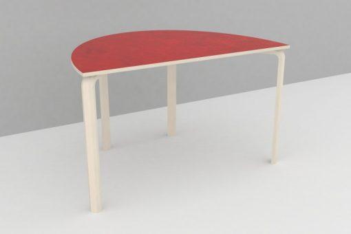 Bord halv oval