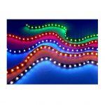 Lyskæde i forskellige farver og effekter