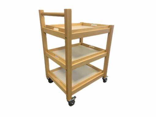 rullebord med 3 bakker