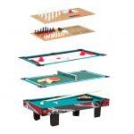 Multifunktionel spillebord i bordmodel