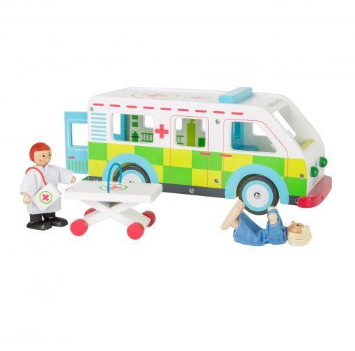Ambulance trælegetøj