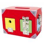 kasse med låse