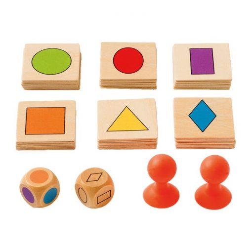 find form og farve spil