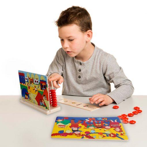 find og tæl til ti lærings spil