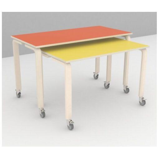 indskudsbord med linoleum