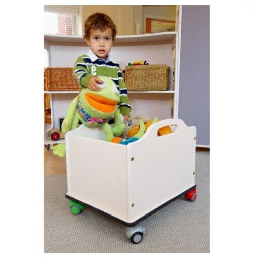 mobil opbevaringskasse med hjul