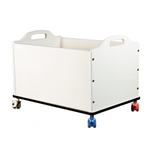 opbevaringskasse med hjul